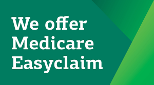 We offer Medicare Easyclaim